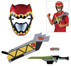 Red Ranger Accessory Kit 4pc - Power Rangers Dino Super Charge