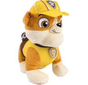 Talking Rubble Plush - PAW Patrol