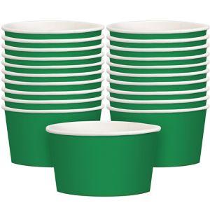 Festive Green Treat Cups 20ct