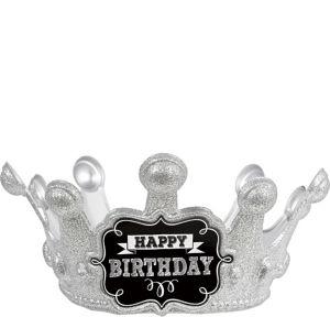 Chalkboard Birthday Sparkle Crown