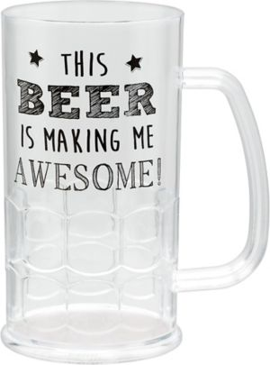 Beer Makes Me Awesome Beer Mug