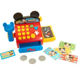 Mickey Mouse Cash Register Playset 10pc