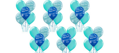 It's a Boy Baby Shower Balloon Kit 30ct