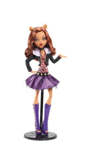 Frightfully Tall Ghouls Clawdeen Wolf Doll - Monster High