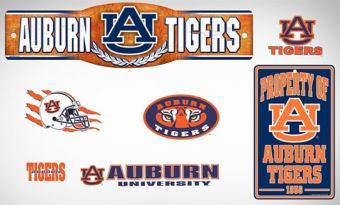 Auburn Tigers Dorm Room Kit