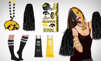Iowa Hawkeyes Fan Gear Kit