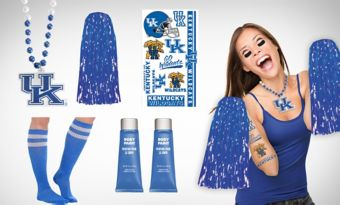 Kentucky Wildcats Fan Gear Kit