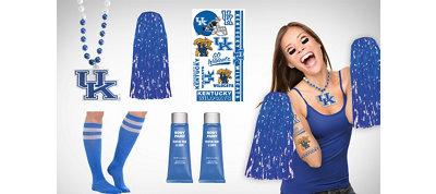 Kentucky Wildcats Fan Gear Kit