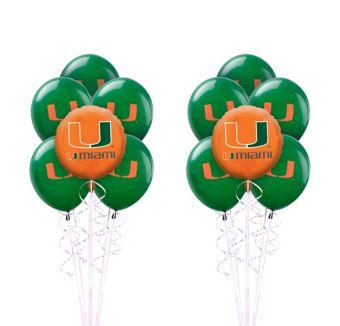 Miami Hurricanes Balloon Kit