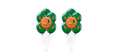 Miami Hurricanes Balloon Kit