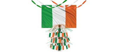 Green, White, Orange Decor Kit