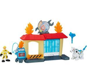 Rescue Bots Griffin Rock Garage Playset 7pc - Transformers