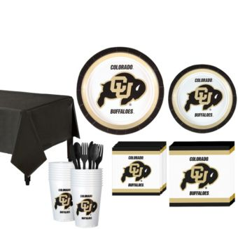 Colorado Buffaloes Basic Party Kit for 16 Guests