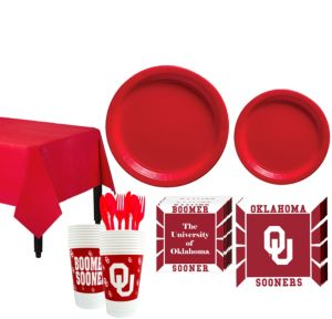 Oklahoma Sooners Basic Fan Kit