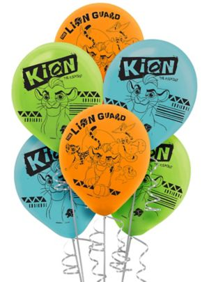 Lion Guard Balloons 6ct