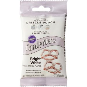 Wilton Bright White Candy Melts Drizzle Pouch