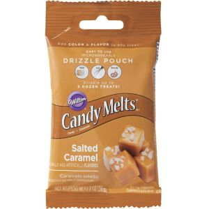 Wilton Salted Caramel Candy Melts Drizzle Pouch