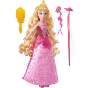 Long Locks Aurora Doll 6pc - Sleeping Beauty
