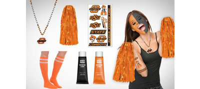 Oklahoma State Cowboys Fan Gear Kit