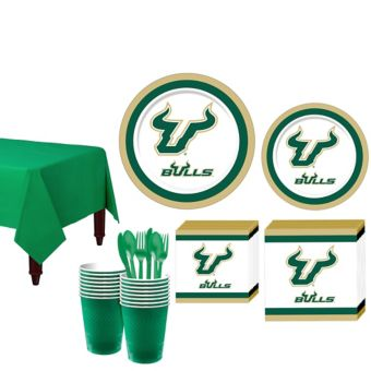 South Florida Bulls Basic Party Kit for 16 Guests
