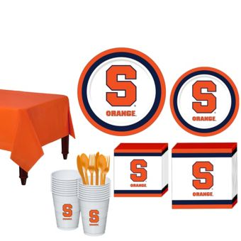 Syracuse Orange Basic Party Kit for 16 Guests