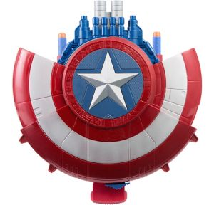 Nerf Blaster Captain America Shield with Darts 4pc