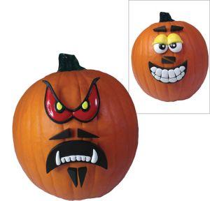 Crazy Face Pumpkin Decorating Kit 12pc