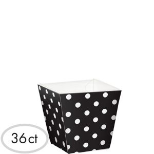 Mini Polka Dot Cubed Bowls 36ct