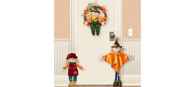 Welcome Scarecrow Door Decorating Kit