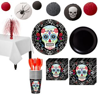 Day of The Dead Ultimate Party Kit