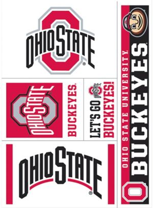 Ohio State Buckeyes Decals 5ct