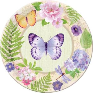 In the Garden Dinner Plates 8ct