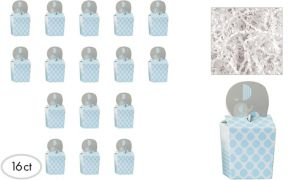 Blue Elephant Deluxe Baby Shower Favor Kit