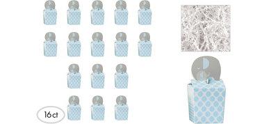 Blue Elephant Deluxe Baby Shower Favor Kit