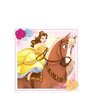Beauty and the Beast Beverage Napkins 16ct