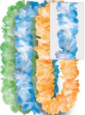 Multicolor Divine Flower Leis 3ct