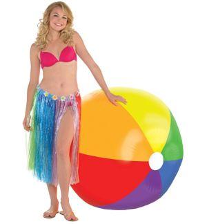 Giant Rainbow Beach Ball