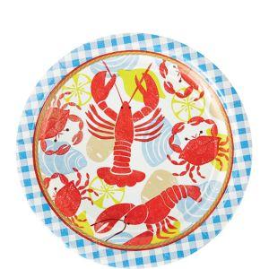 Seafood Fest Dessert Plates 8ct