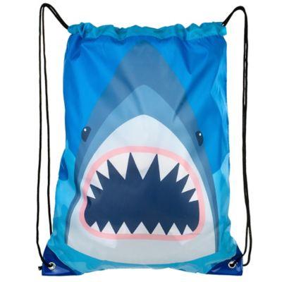011e751246f0 Shark Drawstring Backpack