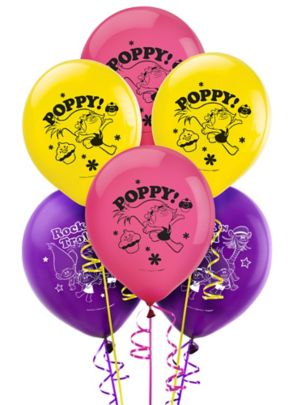 Trolls Balloons 6ct