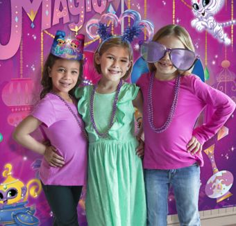 Shimmer and Shine Photo Booth Kit