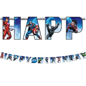 Avengers Birthday Banner Kit