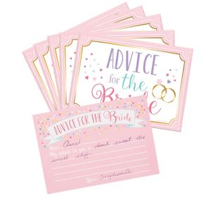 Bride-to-Be Advice Cards 24ct