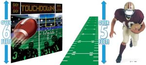 First Down to Touchdown Football Photo Booth Kit