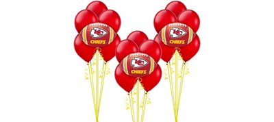 Kansas City Chiefs Balloon Kit