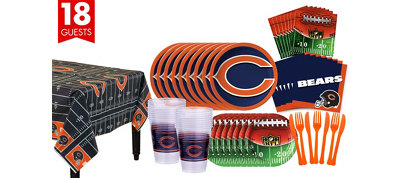 Chicago Bears Super Party Kit for 18 Guests