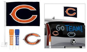 Chicago Bears Car Decorating Tailgate Kit
