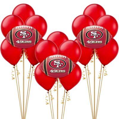 San Francisco 49ers Balloon Kit
