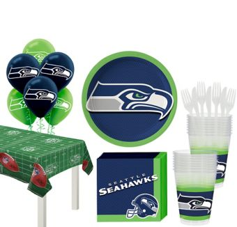 Seattle Seahawks Super Party Kit for 18 Guests