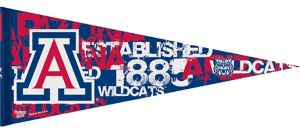 Arizona Wildcats Pennant Flag